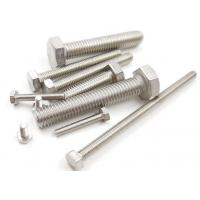 China M6 M8 M10 Hex Head Bolts Full Thread DIN933 Galvanized Grade 8 Polished on sale