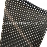 Buy cheap Anti Slip Water Drain Holes Natural Gum Rubber Sheet For Swimming Pool from wholesalers