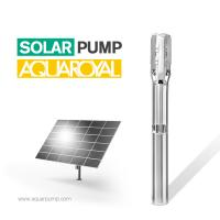 Buy cheap HYBRID SOLAR PUMP 5SP15/2 | MAX FLOW 29.1M3 | MAX HEAD 27M | AUTO AC/DC from wholesalers