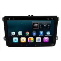 Wholesale 9 inch android car dvd stereo player with car gps navigation system for VW universal from china suppliers