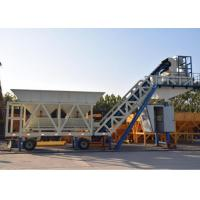 Wholesale Automatic Heavy Construction Machinery Mobile Concrete Batching Plant With 100t Cement Silos from china suppliers