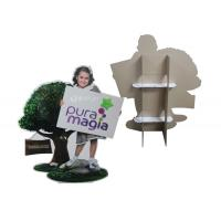 Wholesale Custom Shape Stand In Cardboard Cutouts Life Size with a Back Supporter from china suppliers