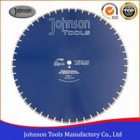 "Wholesale 30"" Concrete Cutting Saw Blade , Concrete Wall Cutting Saw For Fast Cutting from china suppliers"