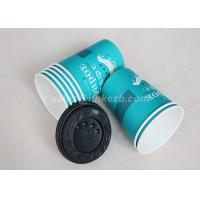 Quality Takeaway Disposable Paper Cups With Lids , Custom Printed Paper Coffee Cups for sale