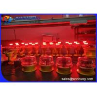 Buy cheap FAA Type L-810 Red LED Steady-burning Low Intensity Obstruction Light from wholesalers