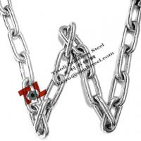 Wholesale DIN 763 5mm Stainless Steel Link Chain Welded Round Link 0.43kg/m from china suppliers