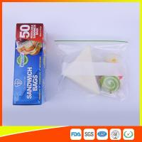 Wholesale Multi Size Ziplock Plastic Bags For Food Storage , Zip Sandwich Bags OEM Acceptable from china suppliers