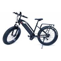 Wholesale High Speed  1000w Bafang Mid Drive Motor Mountain Electric Fat Bike with front  suspension fork from china suppliers