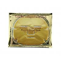 Quality 60G Luxurious 24K Gold Collagen Crystal Gold Face Mask For Unisex for sale