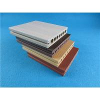 Wholesale Anti-UV Vinyl Decking Material / WPC Decking for Outdoor Flooring from china suppliers