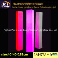 Wholesale 16 Colors Wedding Event LED Pillars Plastic With Remote Control from china suppliers