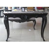 Wholesale Luxurious Black Wooden Consoles Table For Modern Living Room Furniture from china suppliers