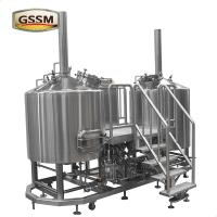 Wholesale Stainless Steel Micro Brewing Equipment , Direct Fired 30 BBL Brewhouse For Hotel / Bar from china suppliers