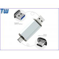 Buy cheap Metal 128GB Pendrive Disk OTG USB 3.1 USB-C USB 3.0 Interface from wholesalers