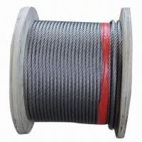 Wholesale Steel Wire Rope, Made of Ungalvanized, Used for Elevator, Crane Lifting and Hanging Basket from china suppliers