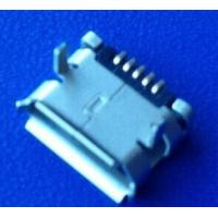 Wholesale Replacement Micro usb 5P-F 6.4,pin leg lenth1.6, with locator from china suppliers