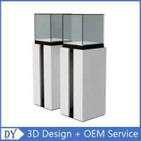 Wholesale Popular Modern Wooden White Exhibition Display Plinths With competitive Prices from china suppliers