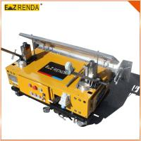 Wholesale Three / Single Phase Wall Plastering Machine Yellow , Building Automatic Rendering Machine from china suppliers