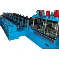 Wholesale Colored Glaze Steel Guardrail Roll Forming Machine 1.5mm - 3.0mm Thickness from china suppliers