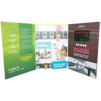 Wholesale promotional activities video invitation card with upload video / music from china suppliers