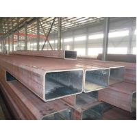 Wholesale A36 , A35 , ST37 , ST35 Low Pressure Rectangular Steel Pipe / Large Diameter Steel RHS Pipe ERW from china suppliers