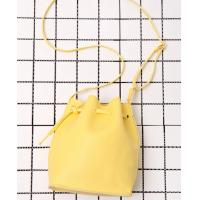 Wholesale Yellow Bucket Over The Shoulder Bags , Leather Messenger Bags For Women from china suppliers