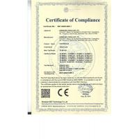 Shenzhen Yesun Led Limited Certifications
