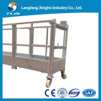 Wholesale zlp 630/800 suspended platform / electric gondola platform / suspended cradle from china suppliers
