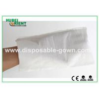 Wholesale White Hospital Disposable Products Disposable Wiping Cloth Free Size , CE Certificates from china suppliers