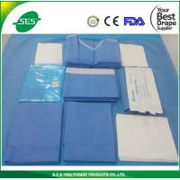 Wholesale Good quality Sterile surgical delivery drape kits for hospital/clinic use from china suppliers