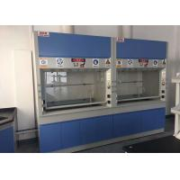 Wholesale Cold Rolled Steel Fume Hood For Scientists / Laboratory Vent Hood from china suppliers