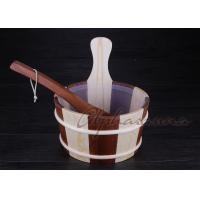 Wholesale Wooden bucket thermometer , lightweight residential sauna kits from china suppliers
