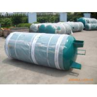Wholesale Horizontal Air compressor tank replacement  for storage and distribution chlorine , propane from china suppliers