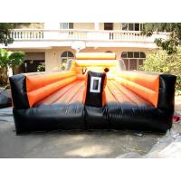 Wholesale Inflatable Amusement Park With Orange Two Lanes For Children And Adult from china suppliers