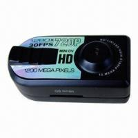 Quality 720P HD Thumb Mini DV with High Definition Function for sale