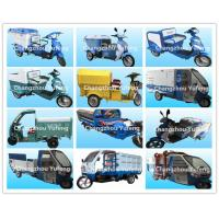 Wholesale Battery Operated Electric Cargo Tricycle , Municipal Waste Collection Truck from china suppliers