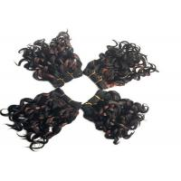"Wholesale Short 8"" Black Synthetic Hair Extensions Highlight With High Temperature Fiber from china suppliers"