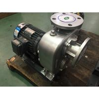 Wholesale Gray Non Clog Centrifugal Pump Self Priming Low Pressure For Irrigation from china suppliers