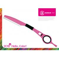 Wholesale Pink Teflon Coating Hair Cutting Razor Professional Hair Scissors Sharpener from china suppliers