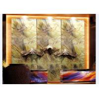 Wholesale Abstract Art Laminated Decorative Glass Panels For Hotel Receptionist Background from china suppliers