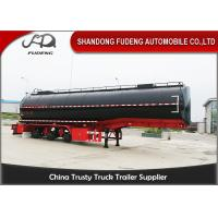 Wholesale 38000 Liters Deliver Crude Oil Tanker Trailer 3 Compartments With Mechanical Or Air Suspension from china suppliers