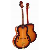 Wholesale Deluxe F Hole Whole Solid Wood Acoustic Guitar / Western Guitar Professional High Level AF4120R from china suppliers