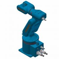 Customized Color Industrial Robotic Arm 3kg - 80kg Payload Easy Maintenance