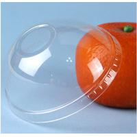 Wholesale 90mm Disposable Clear Cup Lids With Plastic Dome Eco Friendly from china suppliers