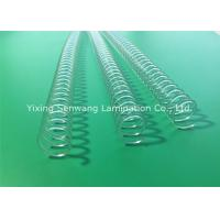 Wholesale Clear Spiral Binding Coils Books Twin Loop Wire 11.0 mm Binding Capacity from china suppliers