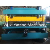 Wholesale 11KW Main Power Roofing Sheet Crimping Machine , Sheet Metal Forming Machine With Big Touch Screen from china suppliers
