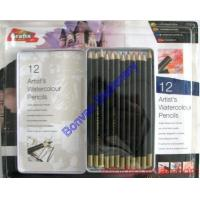Wholesale tin box packed water color pencil set, art paint water pencil, water color drawing pencil from china suppliers