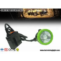 Wholesale Explosion Proof Underground Coal Mining Lights , Safety Hard Hat Headlamp 50000 Lux 5w Cree Led from china suppliers