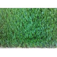 Quality Straight Outdoor Artificial Turf 32mm Environmental Friendly Stem Shape for sale