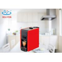 Wholesale 1.0L Simple Coffee Brewer Machine , Red coffe Maker For Different Capsules / Pods from china suppliers